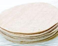 Pâte à wraps ou tortilla facile 200g farine, sel eau huile