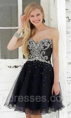Short Natural Sleeveless Baby doll Strapless Prom Dress ykdress4505