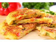 TAPAS: Tortilla z papryką