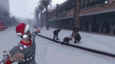 Snowball Fights in GTA V Are Just as Deadly as Regular Fights