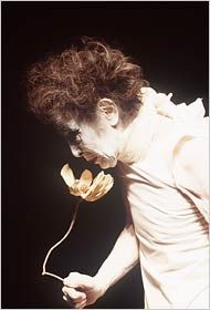 Kazuo Ohno, a founder of Butoh, performing in 1996.