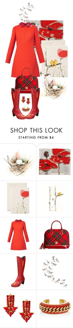 """""""Be inspired"""" by hani-bgd ❤ liked on Polyvore featuring DENY Designs, Valentino, Dooney & Bourke, Laura Vita, Umbra and STELLA McCARTNEY"""