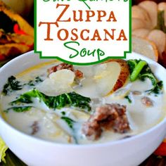 I have made this many times and it is excellent...I use Jimmy Dean Hot sausage. Olive Garden Zuppa Toscana Soup Recipe - So yummy and easy to make!
