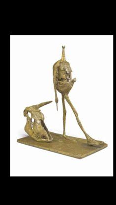 "Germaine Richier - ""La Tauromachie"", 1953 - Bronze - 116,5 x 52,5 x 96,5 cm (*)"