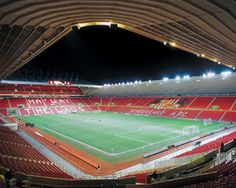 Sunderland's Stadium of Light - I was lucky enough to be allowed a look around this ground as part of my research for 'Striker', which is set in the world of professional football/soccer.
