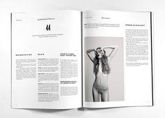 Journalisten Magazine  Re-design of a magazine on journalism