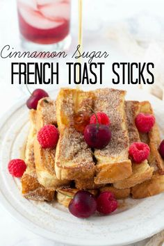 Homemade french toast sticks is one of my go to breakfast meals, the kids love them and they are simple to make! Topped with cinnamon and sugar, this homemade french toast sticks recipe makes the perfect kid friendly breakfast, and for adults too! Homemade French Toast, French Toast Sticks, Homemade Pancakes, Homemade Sweets, Homemade Recipe, Perfect Breakfast, Breakfast Toast, Brunch Recipes, Camping Recipes