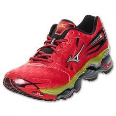 Tênis Mizuno Men's Wave Prophecy 2 Running Shoe Red #Tênis #Mizuno