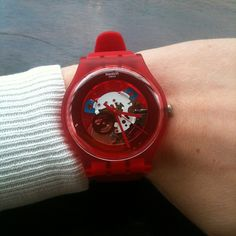RED LACQUERED http://swat.ch/1a9B6Fx  #Swatch