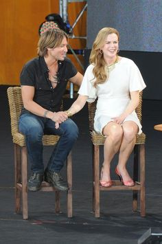 Keith Urban and Nicole Kidman on Oprah