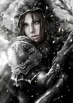 Find images and videos about elf and fantasy art on We Heart It - the app to get lost in what you love. Fantasy Women, Dark Fantasy Art, Fantasy Girl, Fantasy Artwork, Fantasy Warrior, Character Portraits, Character Art, Fantasy Characters, Female Characters