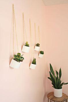 Wooden Box Hanging Planter DIY