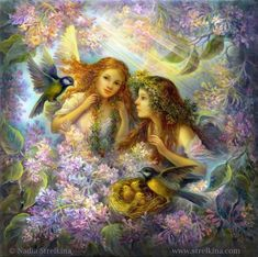 Caring angels by Fantasy-fairy-angel on DeviantArt * Angel Fantasy Myth Mythical Mystical Legend Wings Feathers Faith Valkyrie Odin God Norse Death Dark Light Engel d'ange di angelo de Ángel Ангел anděl wróżka de anjo angyal Fantasy Kunst, Fantasy Art, Fantasy Fairies, Dragons, Raindrops And Roses, Josephine Wall, I Believe In Angels, Creation Photo, Art Pictures