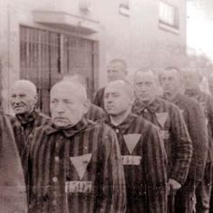 Here are some pictures of gay men that the Nazis put in Concentration Camps. If you oppose gay rights, equality and  marriage: shame on you.