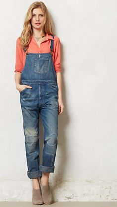 Loving these Levi's overalls...just not sure I can pull them off!