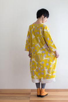 Naginata Round Sleeve Dress Spring : SOU • SOU US Online Store