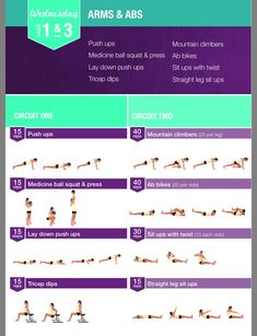 Kayla Itsines Weeks 1 & 3 Wednesday