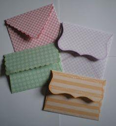 Craftwork Cards Blog: Envelope Templates