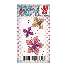 Paper Artsy JOFY MINI 49 Rubber Cling Stamp JM49