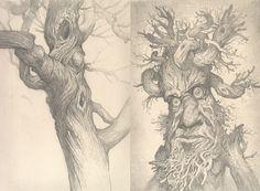 Justin Gerard sketchbook 2012