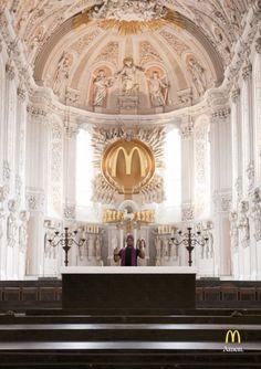 Mc Donalds a Religion?! » Design You Trust – Design and Beyond!
