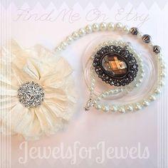 5 en 1 Convertible sucette Clip bébé Bracelet par JewelsforJewels