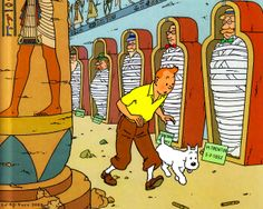 TinTin, Les cigares du Pharaon