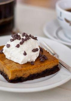 pumpkin pie chocolate bars | a cup of mascarpone