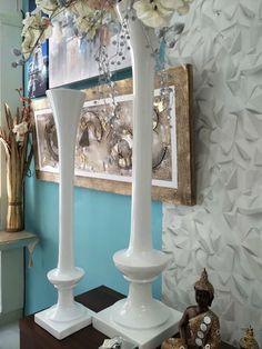 jarrones de suelo decorados con flores en virginia-esber.es
