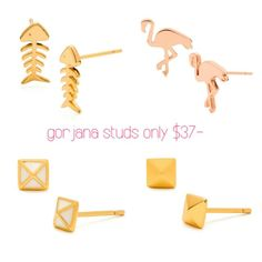 $37- Studs?? Yes please!!! Only at www.marleyrose.com.au