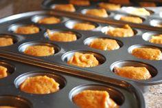 Whole Wheat Pumpkin Mini Muffins