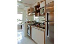Nichos e prateleiras se destacam em apartamento de 66 m² - Arquitetura - iG