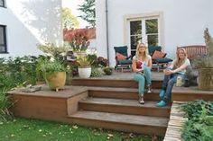 Bildergebnis für terrasse holz stein Garten Ideen