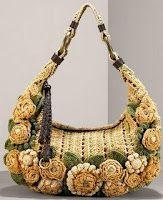 Picasa crochet bag