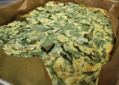Arugula and Two-Cheese Frittata - This is one of my favorite recipes ...