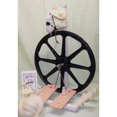 Babe Produktion Spinnrad, Spinnrad PVC, Babe Kunststoff Spinnrad, billige Spinnrad