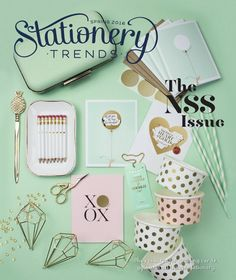 The work of TSBC alum Inklings Paperie was featured on the cover of the Spring 2016 issue of Stationery Trends Magazine. #InklingsPaperie #TSBCAlum