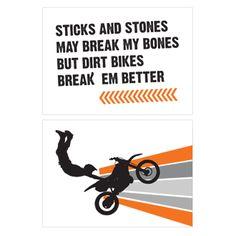Dirtbike Birthday Party - Birthday Party Ideas for Boys