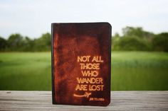 Not All Those Who Wander Are Lost Passport Cover #travel #travelinspiration