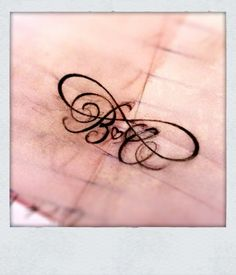 love this! but with my kids initial's
