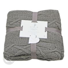 Just Contempo 140cm x 190cm 100% Cotton Aran Knitted Throw Over - Luxury Soft Bed Blanket Throws 140 X 190Cm, Charcoal Grey Just Contempo http://www.amazon.co.uk/dp/B00KCRMY9G/ref=cm_sw_r_pi_dp_VtiBwb1DSPDV7