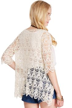 Delicate Lace Cardigan #boho #fashion