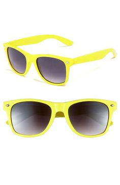 Jazz Yellow sunglasses. Have 'em. Love 'em.