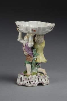 Salt cellar, Date: ca. 1765 1761-1765  Place: Meissen   Punct, Carl Christoph   V&A Search the Collections