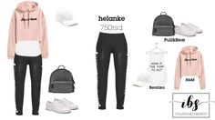 Back to school Outfit, Casula Sport Outfit, Love Leggings