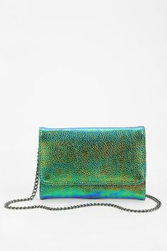 Deena & Ozzy Sea Siren Chain Clutch - Urban Outfitters on Wanelo