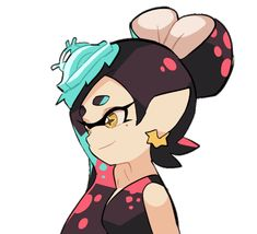Callie '…?! Marie~~!!' Marie: 'Cheers.' It started out as a random animation experiment but it slowly became a scenario in my mind, one where Callie made her big screen debut and Marie proudly attended her ceremony.