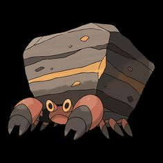#558 *CRUSTLE* (Bug · Rock) Generation 5