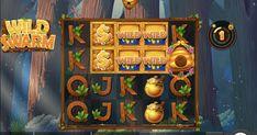 Wild Swarm Slot von Push Gaming im Test 2020 Gaming, Free Slots, Game Ui, Mobile Game, Slot Machine, Game Design, Gold, Painting