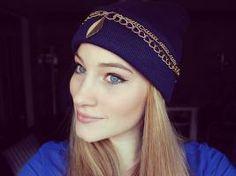 ♥ DIY - La semaine du bonnet - Episode 3 : du bleu & des chaines ♥ • Hellocoton.fr